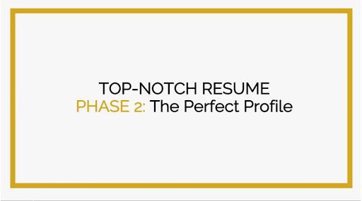 Top Notch Resume — Linda Raynier   Career Strategist