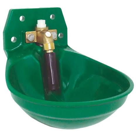 """Vattenkopp Rörventil Suevia 12P-MS¾"""" R20 Grön"""