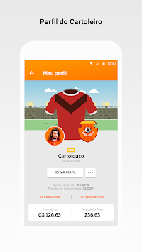 cartolafc apk screenshot