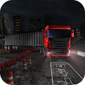 Night Truck Parking Driver 3D