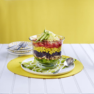 Layered Fajita Salad