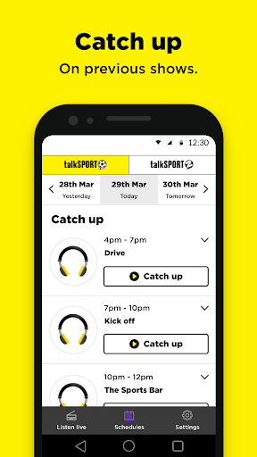 talkSPORT - Live Radio 7.9.3886.211 screenshots 4