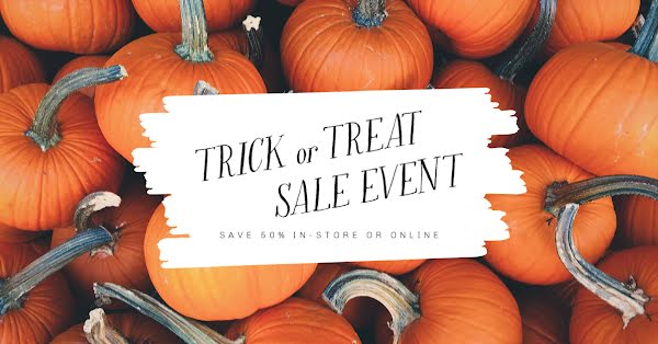 Trick or Treat Sale Event - Halloween Template