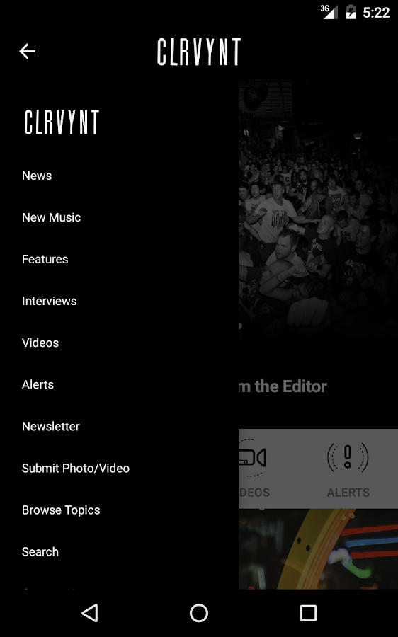 CLRVYNT- screenshot