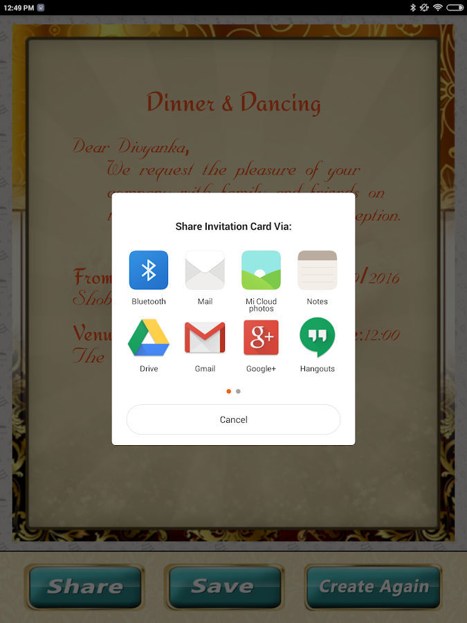 Wedding Invitation Cards Maker Marriage Card App Android Apps on – Wedding Invitation Card Software