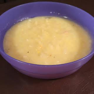 Easy Crockpot Potato Soup.