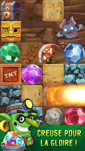 Télécharger Gratuit Dig Out! - Gold Miner apk mod screenshots 1