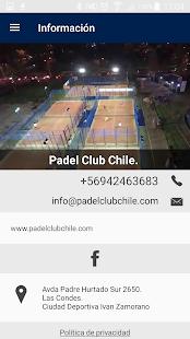 Padel Club Chile screenshot 1
