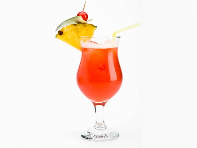Scorpion Bowl Punch Cocktail