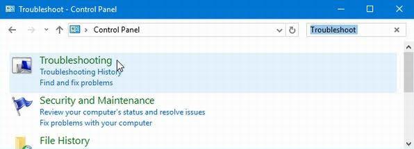 tự sửa lỗi windows 10