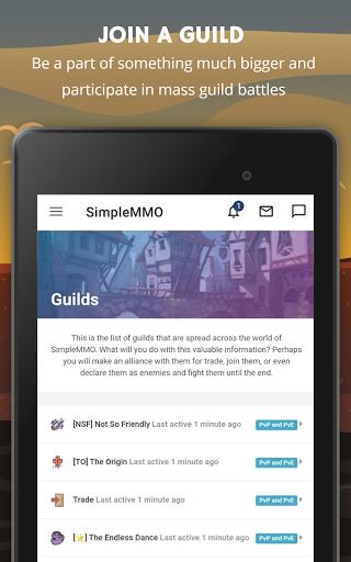 SimpleMMO - The Lightweight MMO apktram screenshots 12