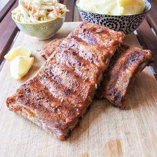 Oven Roasted Pork Ribs.