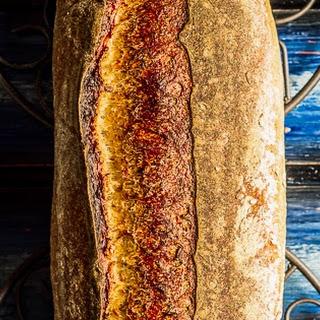 Spelt Oat Bread.