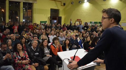 El partido de Errejón no se presentará en Almería