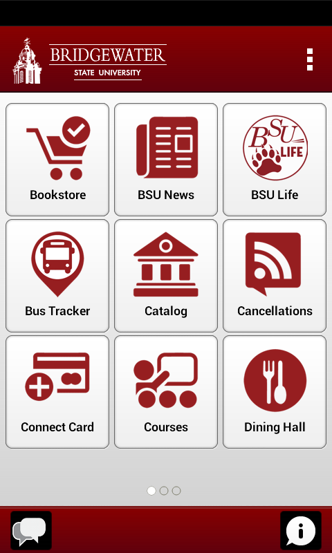 BSU Mobile- screenshot