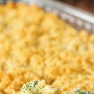 Creamy Broccoli Casserole (Printable recipe)