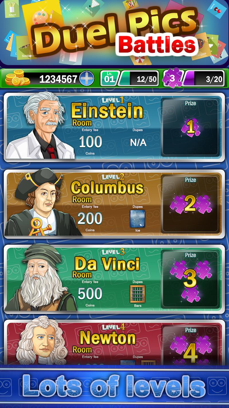 Скриншот Duel picto battles, pics game