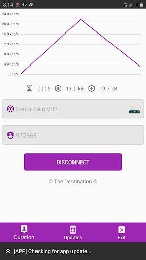 The Destination VPN 10.7 screenshots 1