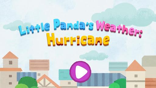 Little Panda's Weather: Hurricane apkpoly screenshots 12