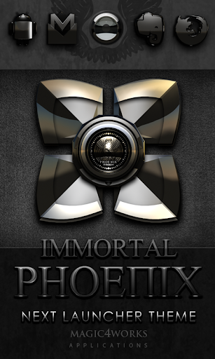 Next Launcher Theme Phoenixe