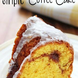 Simple Coffee Cake.