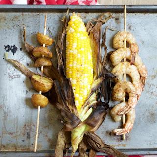 """Grilled Shrimp """"Boil"""""""
