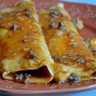 Ground Beef Enchiladas Flour Tortillas Recipes