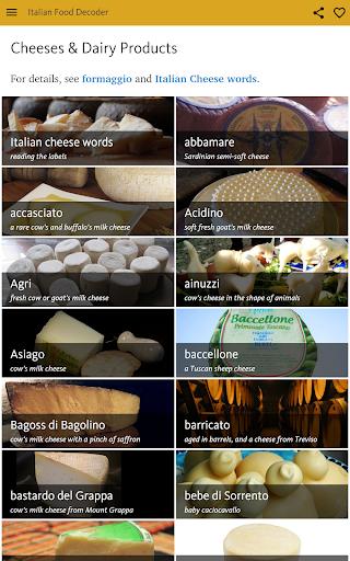 Italian Food Decoder screenshot 18