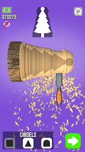 WoodTurning Mod Apk 1.9.1 [Unlimited Money + No Ads] 1