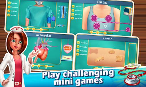 Code Triche Doctor Madness : Hospital Surgery & Operation Game APK MOD screenshots 2