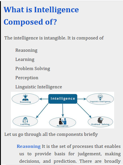 Artificial Intelligence (AI) What is AI? – (Android Apps