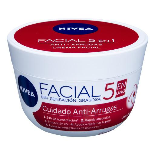 crema facial nivea antiarrugas vitamina e 50ml.