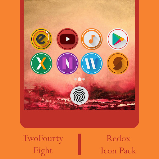 Redox - Icon Pack app (apk) free download for Android/PC/Windows screenshot