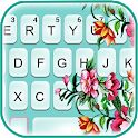 Summer Time Flowers Keyboard Theme icon