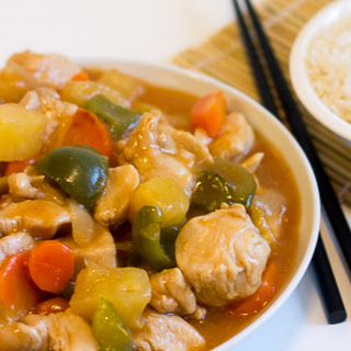 Sweet and Sour Chicken Stir Fry.