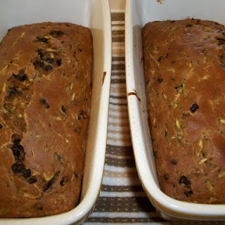 Low Sugar Zucchini Bread.