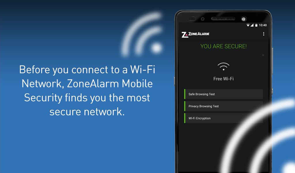 ZoneAlarm Mobile Security- screenshot