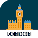 LONDON City Guide, Offline Maps, Tickets and Tours icon