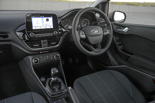 Inside the layout is simpler with a floating touchscreen. Picture: QUICKPIC