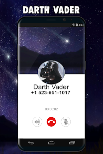 Real Call From Darth-Vader - náhled