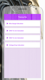 Electric wire calculator apps on google play screenshot image greentooth Choice Image