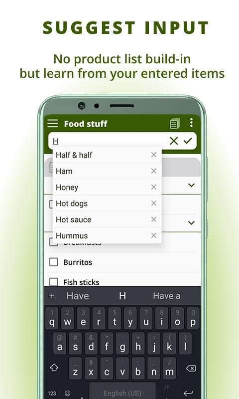 Grocery list, card coupon wallet: BigBag Pro Screenshot 2