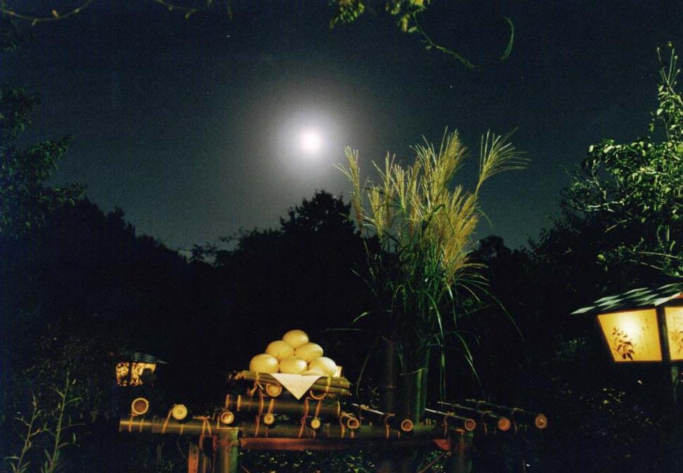 El tsukimi, el festival de observación de la luna.