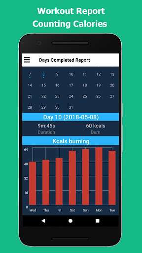 Lose Belly Fat in 30 Days - Flat Stomach 1.0.1 screenshots 3