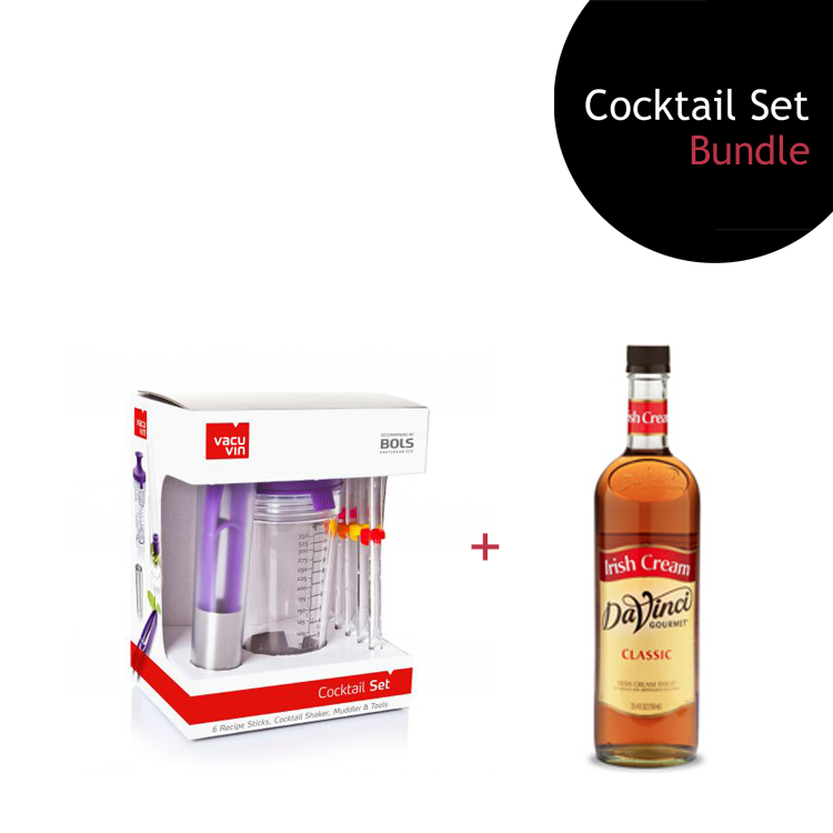 [Bundle] Cocktail Set + Irish Cream Syrup by ECIATTO GROUP SDN BHD