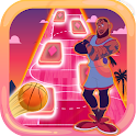 the space jam: a new legacy tiles hop edm rush icon