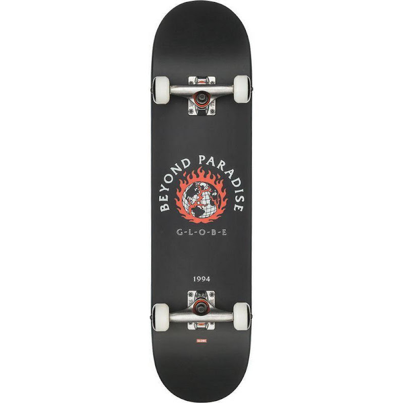 skateboard - Globe G1 Ablaze black 7.75
