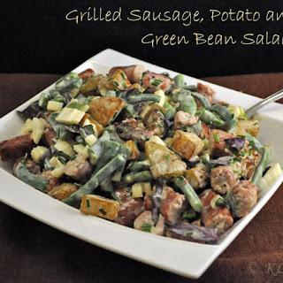 Grilled Sausage, Potato and Green Bean Salad