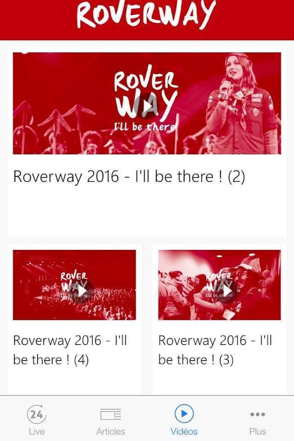 Roverway 2016 (FR)- screenshot