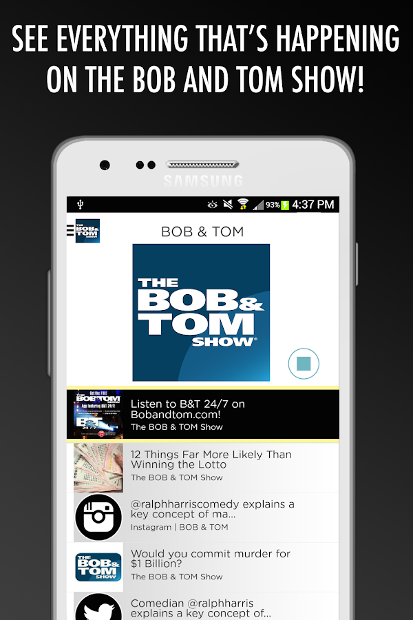 The BOB & TOM Show- screenshot